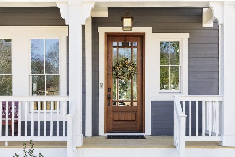 Front Door to a Home