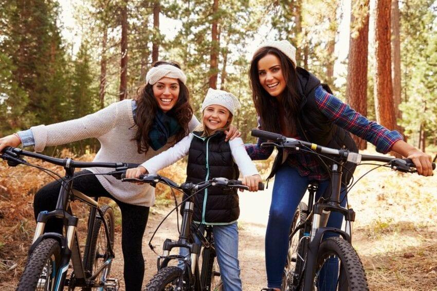 Biking in the Park
